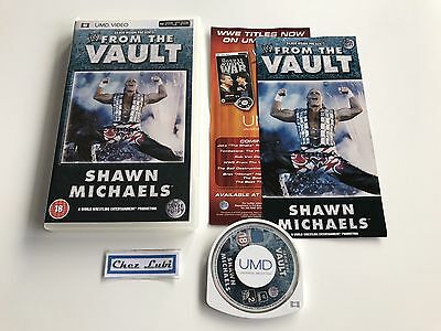 WWE From The Vault Shawn Michaels (Wrestling) - UMD Video - Sony PSP - EN