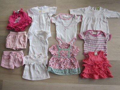 Girls Baby Infant Size 0000 Clothes clothing bulk lot mixed styles x 11 items