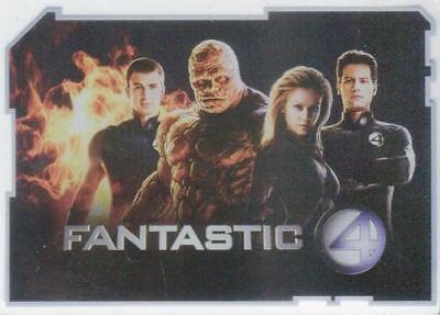 Fantastic Four Movie Celz Plastic Coated Base Card Set Cards Inc. 2005