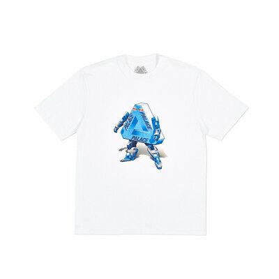"""Palace Tokyo Store Opening Exclusive ROBO T-Shirt TEE Robot Tri-Ferg """"AUTHENTIC"""""""