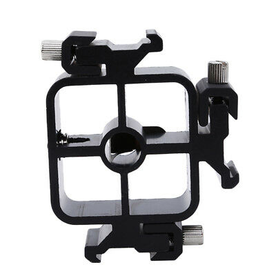 Metal 3-Way Triple Triple Hot Shoe Mount Adapter Flash Holder Bracket 8C