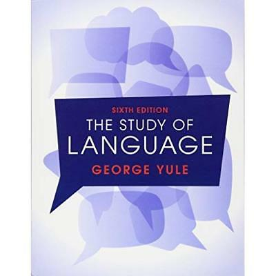 The Study of Language - Paperback NEW George Yule (Au 27 Oct. 2016