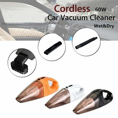 Portable 120W 12V Handheld Cyclonic Car Vacuum Cleaner Wet/Dry Duster Dirt HOT A