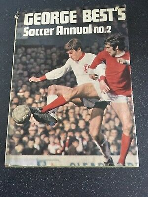 George Best's Soccer Annual No2 Book 1969