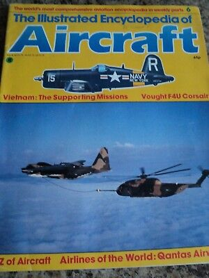 Illustrated Encyclopedia Of Aircraft Magazine #6 Vietnam Supporting Missions Vou