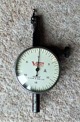 Vintage Verdict Dial Gauge - Capp & Son Ltd - In Working Order