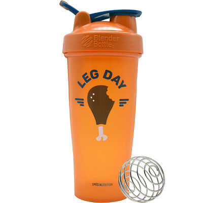Blender Bottle Special Edition 28 oz. Shaker with Loop Top - Leg Day