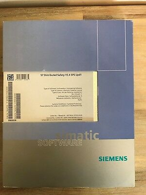 Siemens 6Es7833-1Fc02-0Ya5 Simatic S7-F Distributed Safety Software V5.4 Sp5