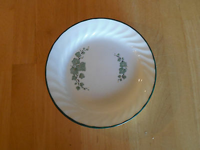 "Corelle CALLAWAY Salad Plate 7"" Green Ivy on White Swirl 1 ea       58 available"