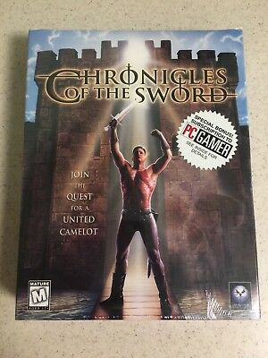 """Psygnosis """"Chronicles of the Sword"""" (Big box PC game)"""