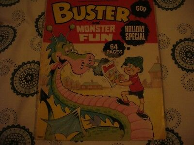 buster & monster fun holiday special comic 1985