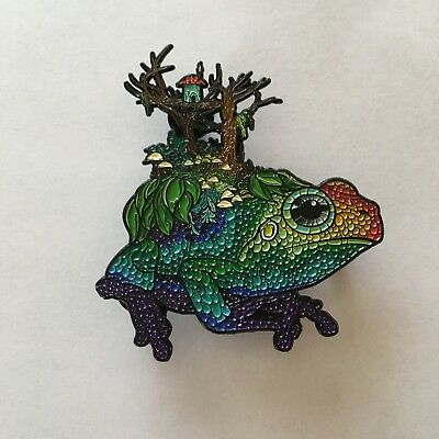 Rainbow Frog Pin Amphibian Excursion Dominik Lupo LE 125 The Artistry Collection