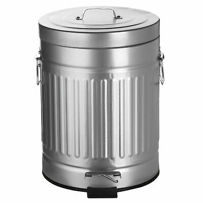 AMG Stainless Steel 1.32 Gallon Step On Trash Can