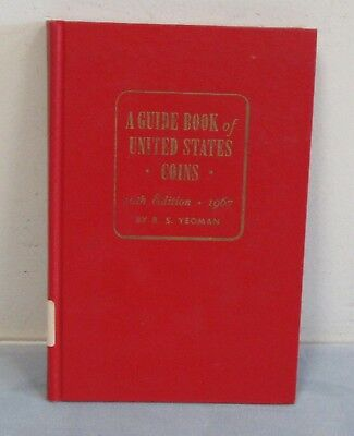1967 Guide Book Of United States Coins Red Book, Signed by R.S. Yeoman