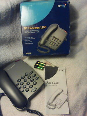bt converse 1100 corded desk wall telephone