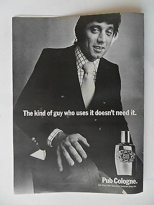 1972 Print Ad Pub Cologne Fragrance After Shave ~ Joe Namath New York Jets Star