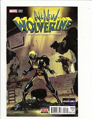 All-New Wolverine #2 1St Appearance Gabby Honey Badger 2016 X-23  Laura's Sister