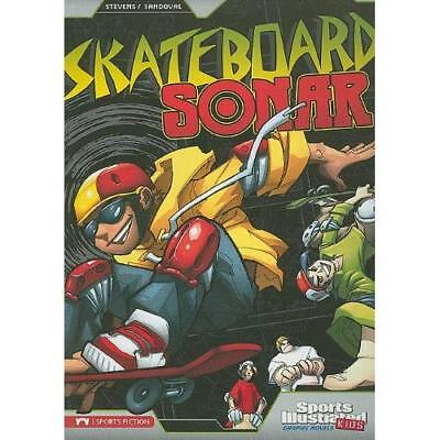 Skateboard Sonar (Sports Illustrated Kids Graphic Novel - Paperback NEW Eric Ste
