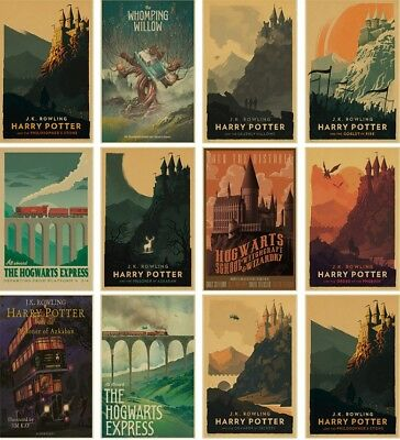 Harry Potter Home Wall Decoration Vintage Posters A 4 FREE SHIPPING