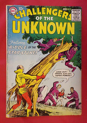 Challengers of the Unknown #5 ! DC 1959 ! JACK KIRBY & WALLY WOOD ! hayfamzone