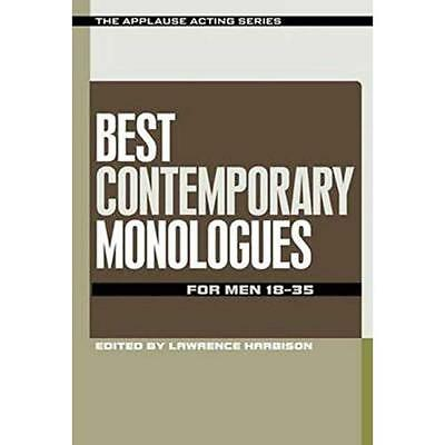 Best Contemporary Monologues for Men 18-35 (The Applaus - Paperback NEW Lawrence