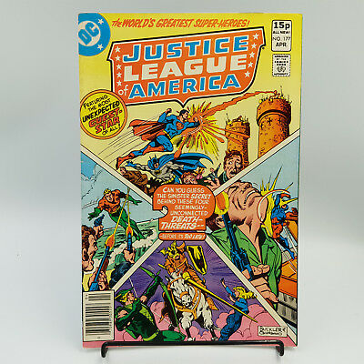 Justice League Of America #177 Bronze Age DC Comics Gerry Conway VF