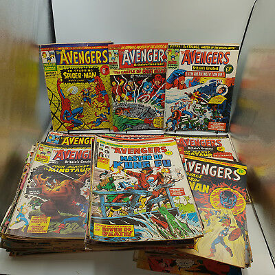 Avengers #8 to146  Huge Marvel UK Comics Wholesale Collection Lot