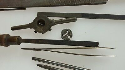 Clockmakers Tools, Files hand Removal - Good selection - antique clock tools