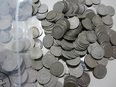 431 Liberty V Nickels All Circulated Lower Grades 5C Mixed Dates