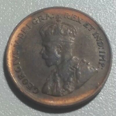 "1929 "" High 9 "" Canada One Cent - Key Date High Nine Variety. Canada penny"