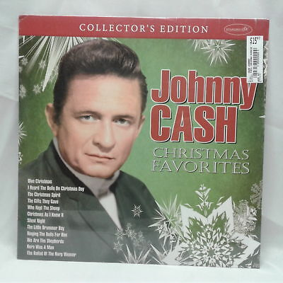 Johnny Cash Christmas Favorites Vinyl Record LP Collector's Edition