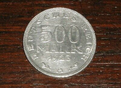 500 Mark 1923 A, Weimarer Republik