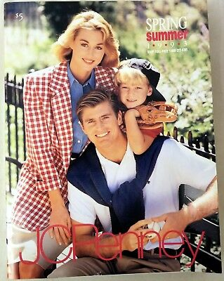 J. C. Penny. Spring & Summer Catalog. 1993. In very good condition.
