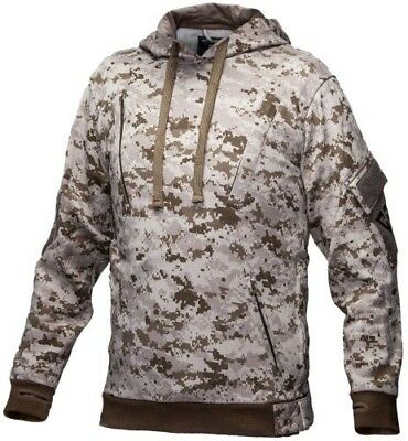 Tactical Recon Military Fleece Hoodie Army Combat Pull Over Hoody Digital