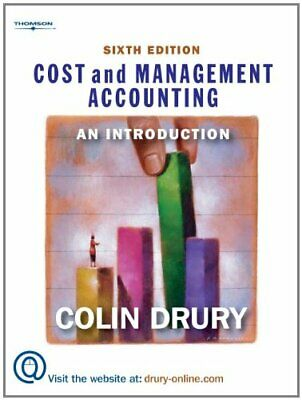 Cost and Management Accounting: An Introduction by Drury, Colin Paperback Book