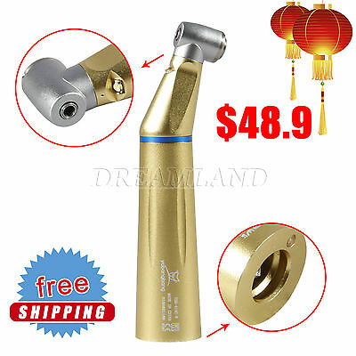 Dental Slow Low Speed LED Fiber Optic Contra Angle Handpiece Inner Water SA-1A