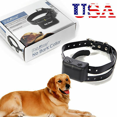 Waterproof NO BARKING Dog Shock Collar Rechargeable Medium Large Anti Bark