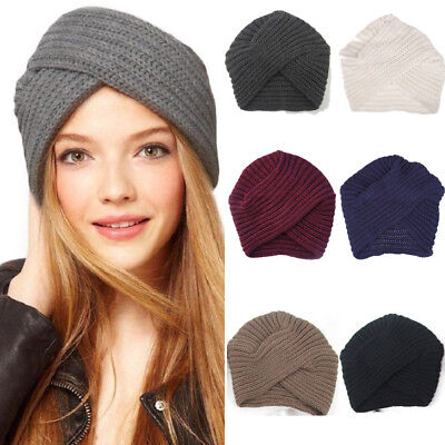 baa1863deed63 Hot Women Ladies Beret Winter Warm Baggy Beanie Knit Crochet Hat Slouch Ski  Cap