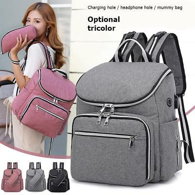 Baby Diaper Bag Backpack Waterproof Mummy Maternity Large Capacity Travel Bags