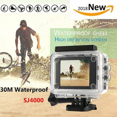 SJ4000 HD 1080P Waterproof Sports Camera DV Action Video Record for Go pro WX
