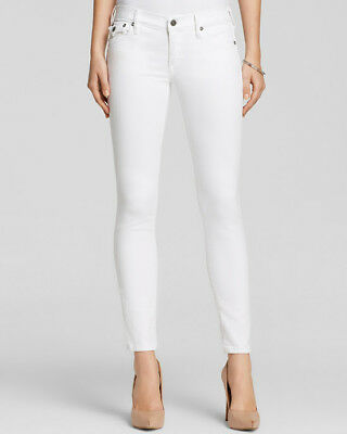 Woman's True Religion Jeans Serena Skinny in Optic White size 32