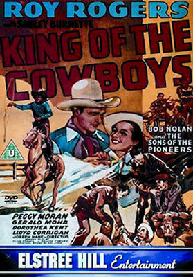 King Of The Cowboys Dvd [Uk] New Dvd