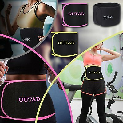 cb91973b77 OUTAD Waist Trimmer Gym Exercise Slimming Fat Burn Body Shaper Workout
