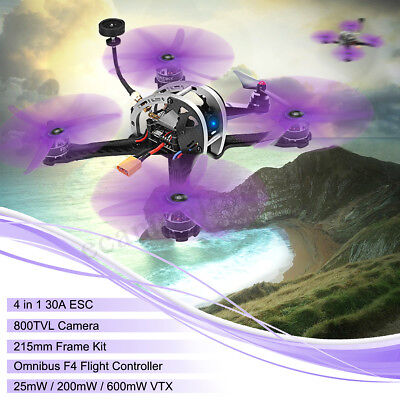 Realacc Real5 215MM FPV Racing Drone PNP Omnibus F4 25/200/600 VTX w/ Camera