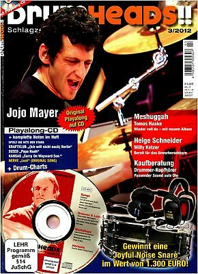 Yoyo Mayer - Purchase Drummer Headphones- Drumheads with Play along CD