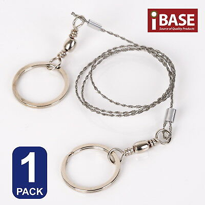Wire Saw Camping Hiking Stainless Steel Commando Survival Emergency Cut Rope