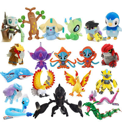 Pokemon Series Piplup,Dragonair,Zeraora, Necrozma Plush Doll Toy Gift 6''- 31''