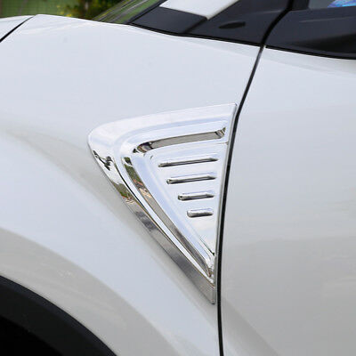 Chrome Front Side Door Body Moulding Cover Trim For Toyota C-HR CHR 2016-2018