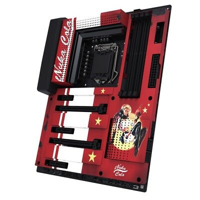 NZXT N7 Z370 Nuka-Cola Cover (Limited Edition only 400 made)-BRAND NEW