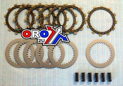 New KDX 200 86 87 88 Psychic HD Clutch Kit Friction Steel Plates Springs